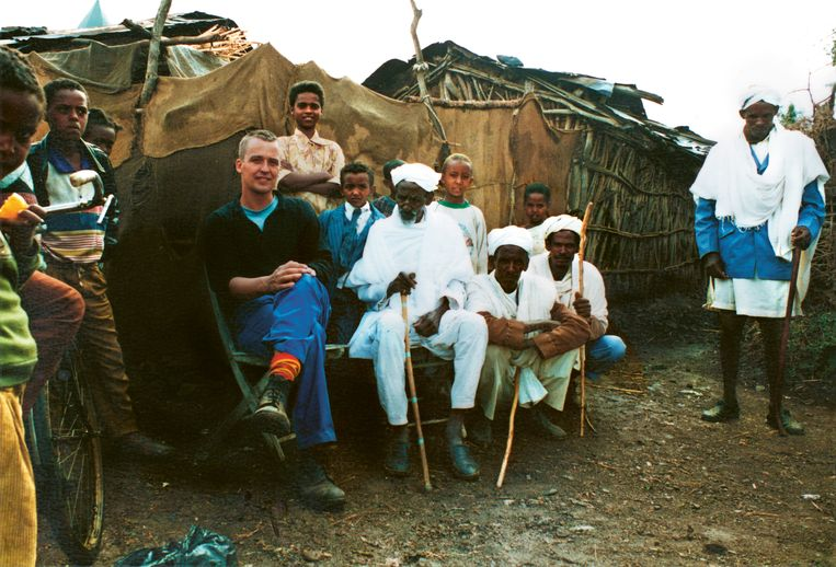 Terrie Hessels in Eritrea. Beeld