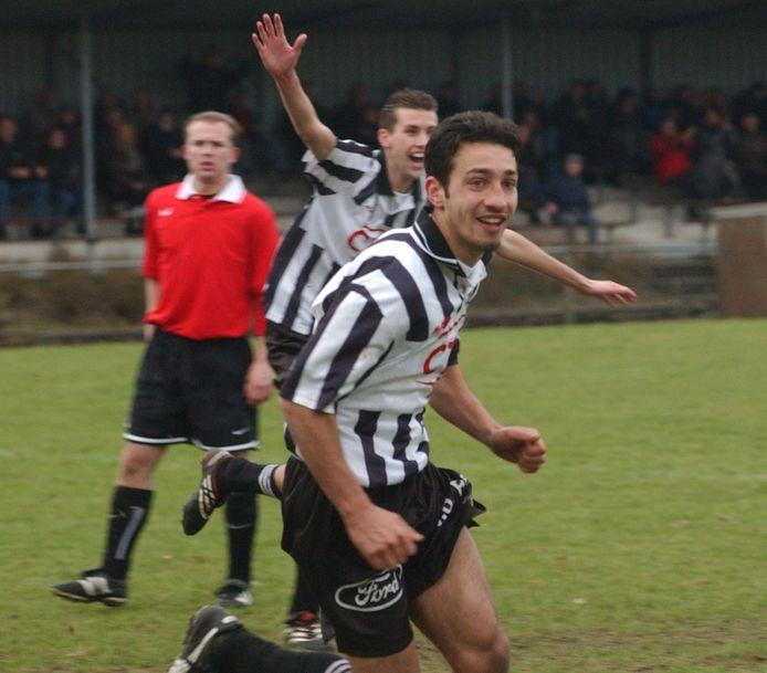 Esad Osmanovski heeft gescoord voor Breskens. De aanvallende middenvelder overleed in 2004, op 23-jarige leeftijd