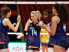 Superieure volleybalsters zonder setverlies naar knock-outfase EK