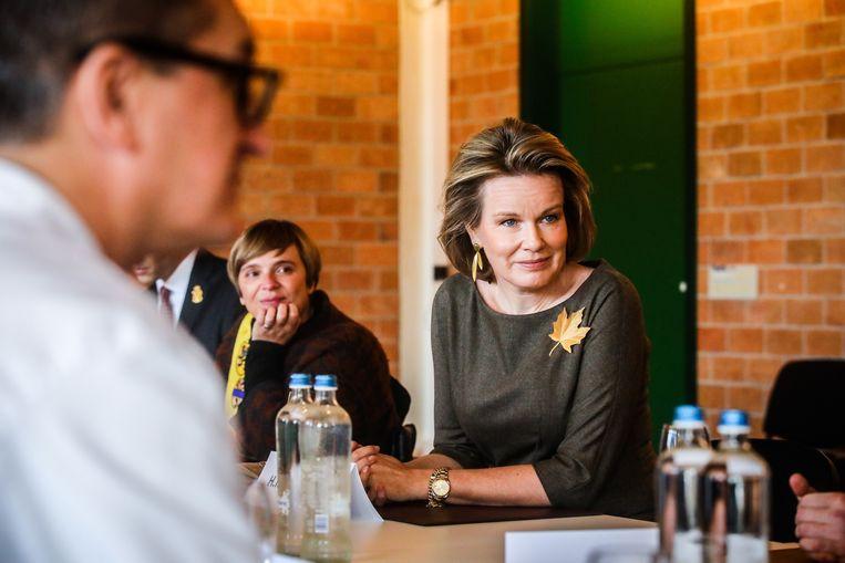 Er was ook tijd voor een gesprek over het aanbod van de hotelschool Ter Duinen