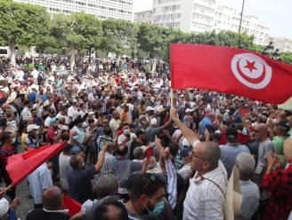 Eerste straatprotest tegen machtsgreep in Tunesië