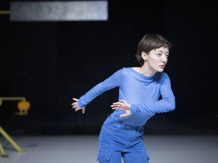 Hannah De Meyer in 'Hi Baubo'. Beeld RV