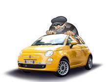 Ciao Fiat 500, zegt de autodief. En weg is dat kekke, bolle autootje ...
