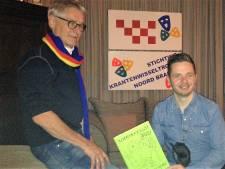 Tekenaar Kneuterkrant Cromvoirt wil hoge ogen gooien bij krantenwisseltrofee