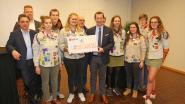 Mooiste Nacht schenkt 3.500 euro aan scouts voor bouw nieuwe lokalen