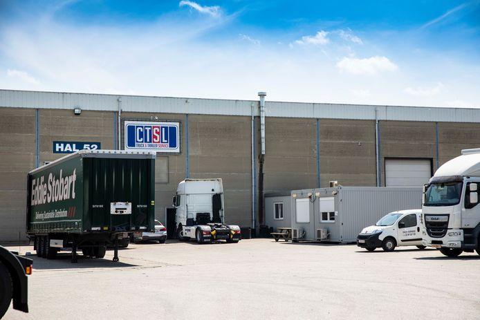 Het bedrijf CTSL is gelegen aan Zuidbroek in Genk.