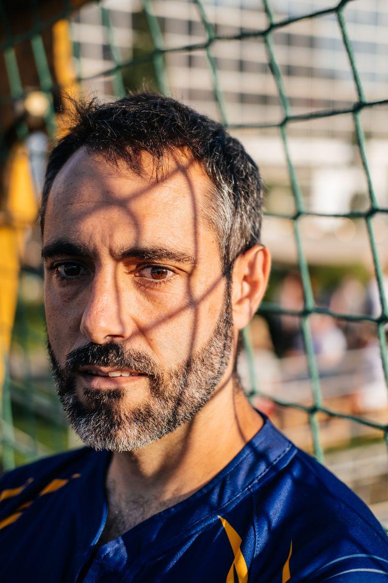 Miguel Gallardo. Beeld Wouter Van Vooren