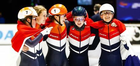 Schulting sluit perfect WK af met uniek goud op relay, ook winst mannenploeg