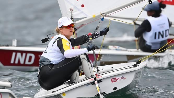 """Emma Plasschaert heeft geen wind in de zeilen meer, brons lijkt hoogst haalbare: """"Alles zal moeten kloppen"""""""
