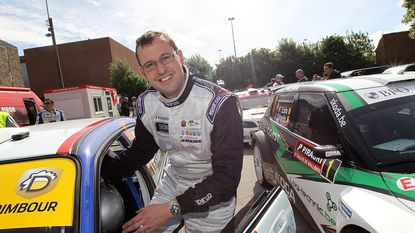 Kris Princen start als favoriet in Sezoensrally