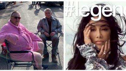 SHOWBITS. Jaak Van Assche is 'pretty in pink' en is het nu Nicole Scherzinger of Danira Boukhriss Terkessidis?
