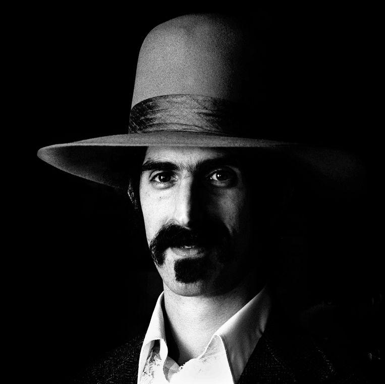 Frank Zappa in het American, 1973. Beeld C. Barton van Flymen