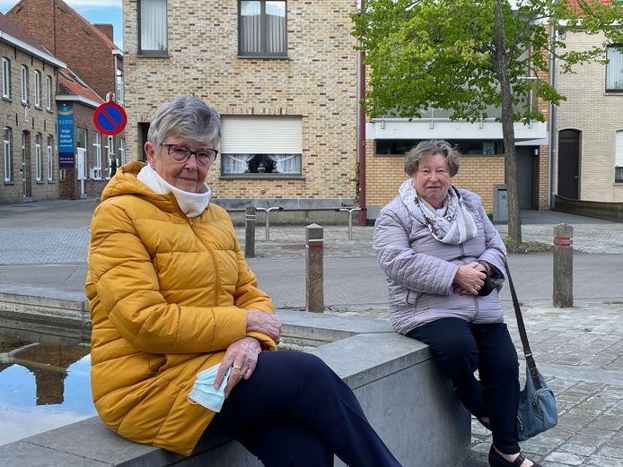 Christiana Quintens (85) en Christiane Dumarey (82) houden hun hart vast voor wat er zal gebeuren als de enige overgebleven huisarts ermee stopt.