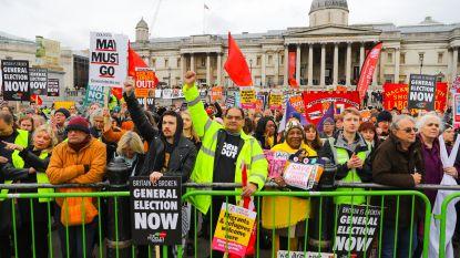Ook in Londen kennen ze nu 'yellow vests'