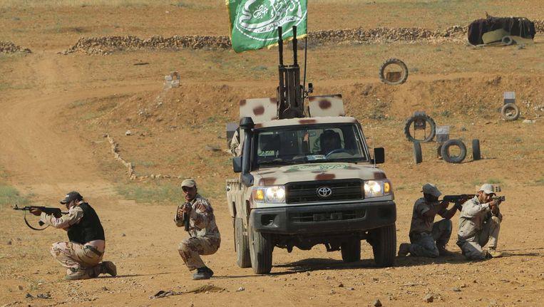 Syrische vrijheidsstrijders.