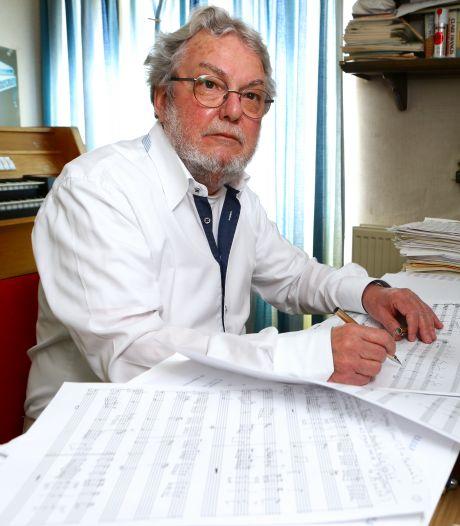 In het hoofd van componist Cees klinken altijd muzieknoten: 'Geen dag zonder Bach'