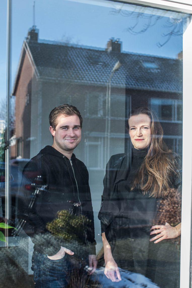 Onderzoekers Pim Aarns en Ineke Roex. Beeld Thomas Legrève