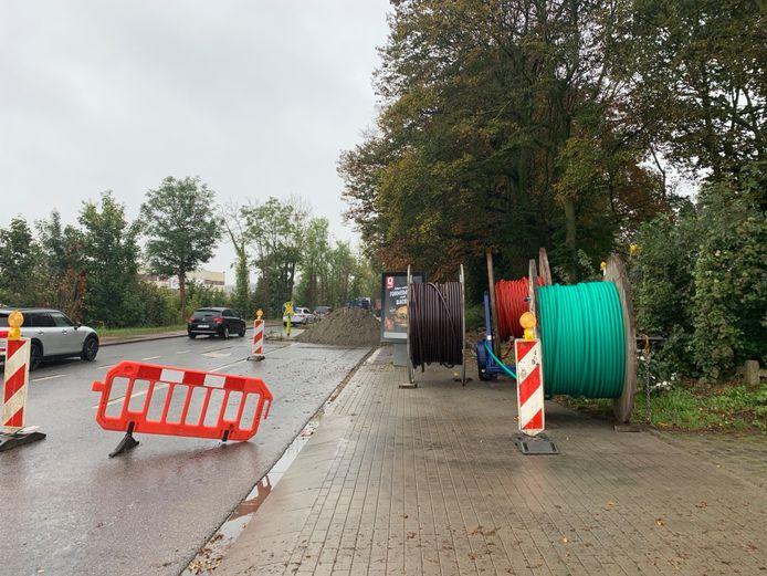Werken Fluvius - Brusselsesteenweg Vilvoorde