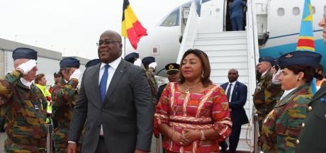 Le président congolais Félix Tshisekedi est arrivé en Belgique