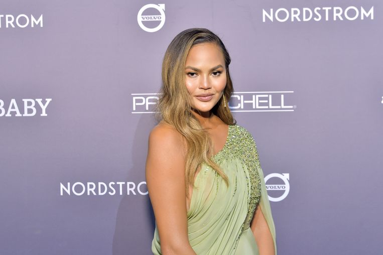 Chrissy Teigen Beeld Getty Images for Baby2Baby