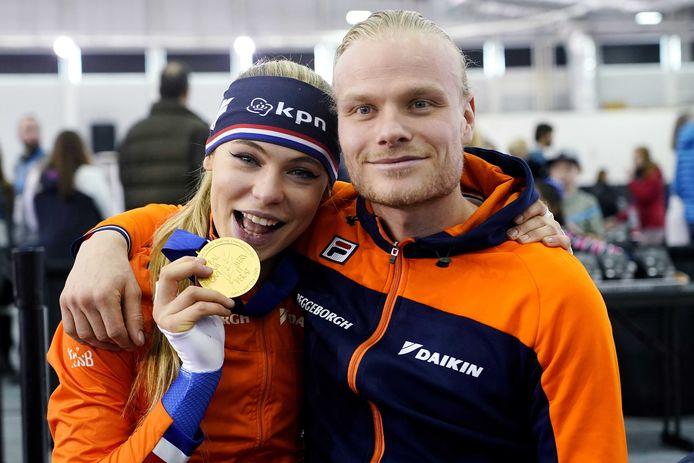 Jutta Leerdam en Koen Verweij.