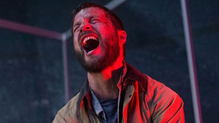 Logan Marshall-Green in 'Upgrade' van Leigh Whannell. Beeld