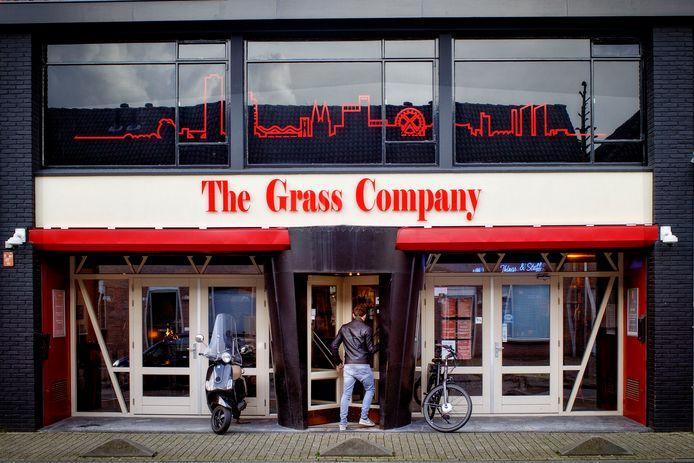 De coffeeshop aan de Piusstraat in Tilburg, de eerste van Brabant.