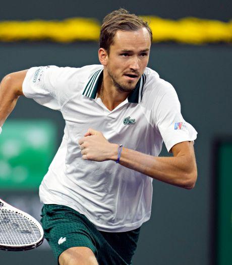 US Open-winnaar Medvedev boekt ondanks weinig vertrouwen zege in Indian Wells