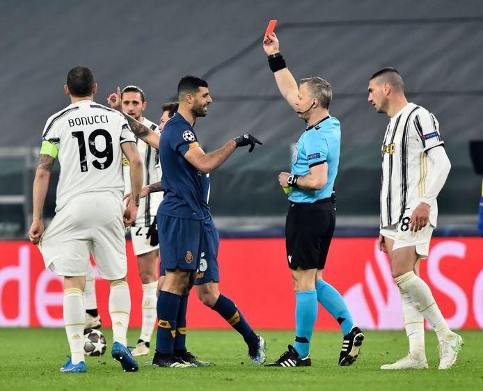 Kuipers floot eerder de wedstrijd tussen Juventus en FC Porto.