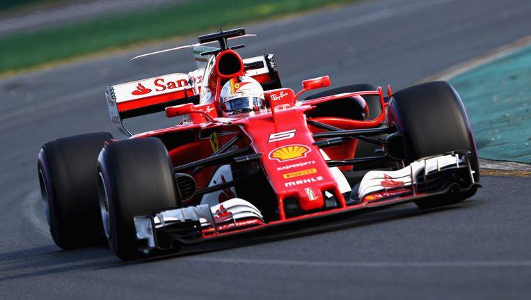 Sebastian Vettel. Beeld Getty Images
