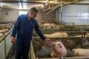 Varkenshouder Herman Krol wil meedoen aan de saneringsregeling van het kabinet.