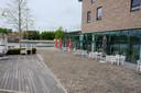 Het terras van Brasserie Canal.