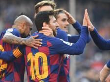 Quadruplé de Lionel Messi face à Eibar, premières minutes pour Braithwaite
