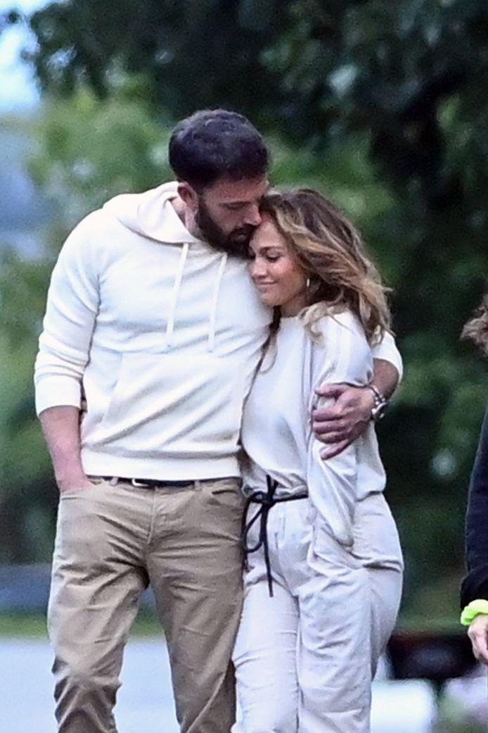 Jennifer Lopez et Ben Affleck le 4 juillet dernier.