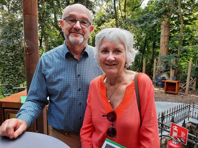 Martine Matthijs en Patrice Vandendaele. Zij is de nicht van Edmond Matthijs die in Villa Madonna woonde.