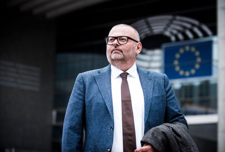Janis Emmanouilidis van het European Policy Center hekelt de negatieve beeldvorming over de EU. . Wel vindt hij dat die dat zelf mee in de hand heeft gewerkt. Beeld Karel Duerinckx