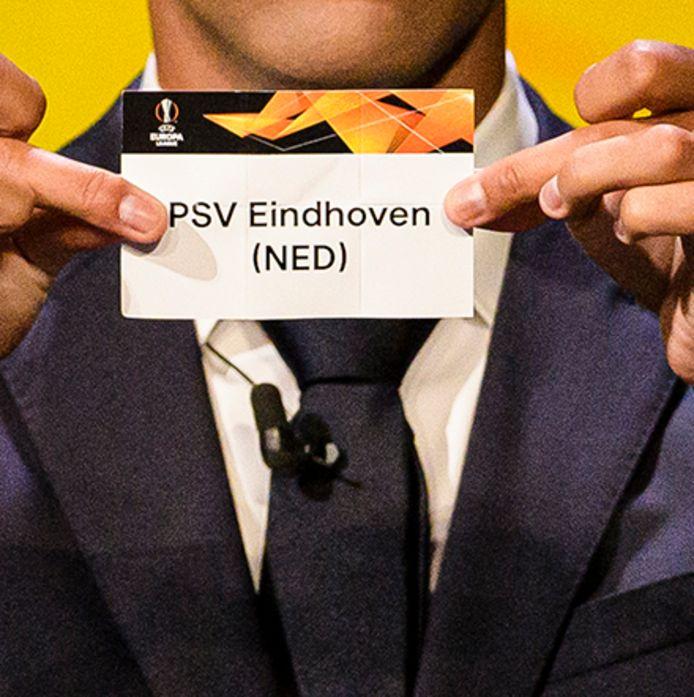 Loting: PSV Europa League