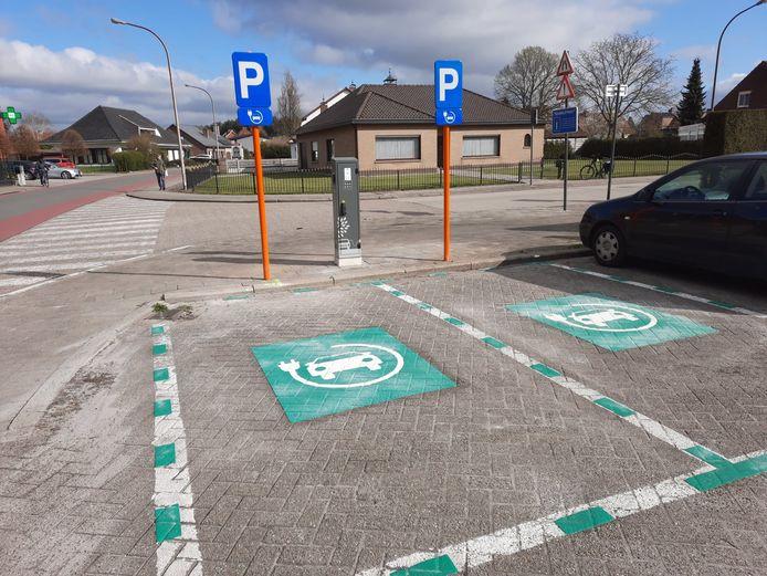 Oplaadpunt voor elektrische wagens