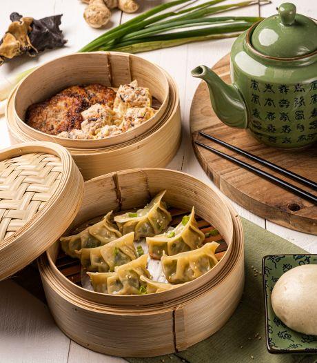 Wat Eten We Vandaag: Bapao met gehakt en gember