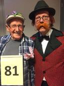 De twee ouwe rotten in het vak Herman Hermans (links) en Tonny Manders stonen weer in de ton.