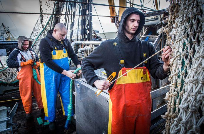 Vissers in mineur na verbod op pulsvissen.