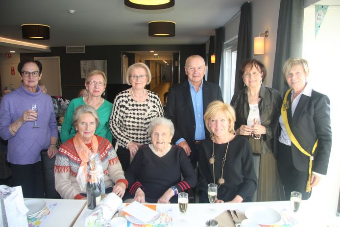 100-jarige Delphina Quinteyn