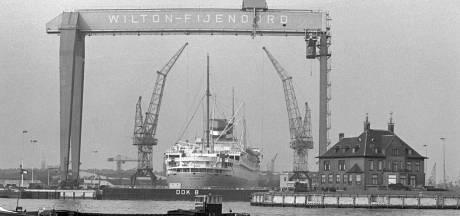 Vanaf 'Villa Wilton' had je een prachtig uitzicht over de schepen