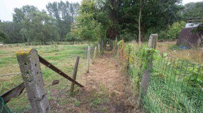 Voetweg tussen Kattem en begraafplaats Strijtem opnieuw toegankelijk