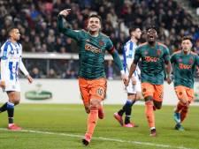 Ajax kan eindelijk weer juichen na dolle tien minuten in Heerenveen