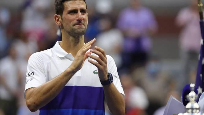 """""""Quelque chose que je n'avais jamais ressenti"""": les premiers mots de Djokovic après l'incroyable finale contre Medvedev"""