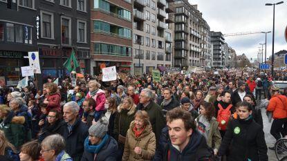 """""""Historische"""" 70.000 tot 75.000 deelnemers volgens organisatie op grootste Belgische klimaatmars ooit"""