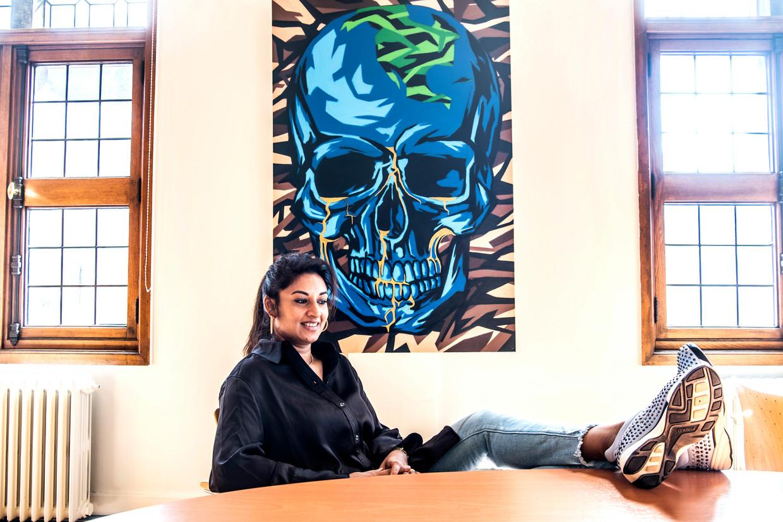 'Wij voeren een war on marihuana: de jonge gast met een zakje wiet wordt opgepakt, de welgestelde cokesnuiver niet' Beeld Saskia Vanderstichele