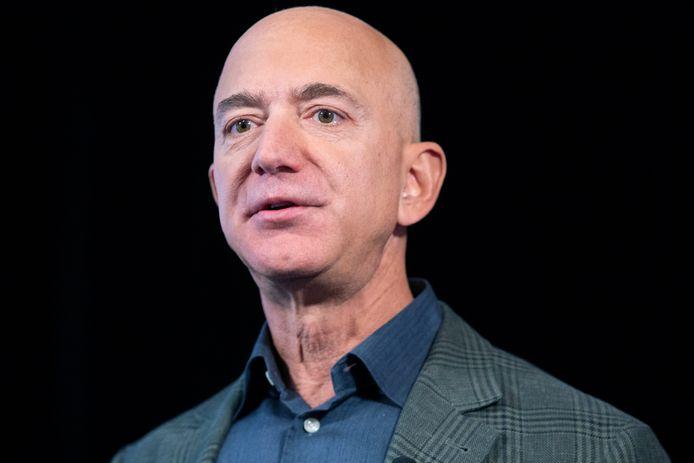Amazon-oprichter Jeff Bezos is de rijkste man ter wereld.