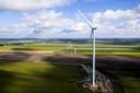 Windmolens in de Drentse Veenkoloniën.
